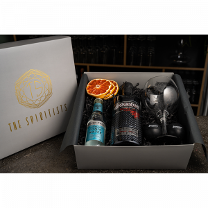 BOTTLE IN THE BOX // Brockmans Gin