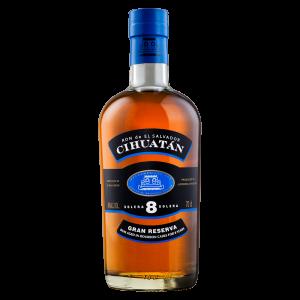 CIHUATÁN 8 Solera Gran Reserva Rum  | 40% 0,70l
