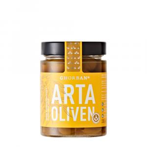 Arta Oliven – Grüne Konservolia ohne Kern | 320g