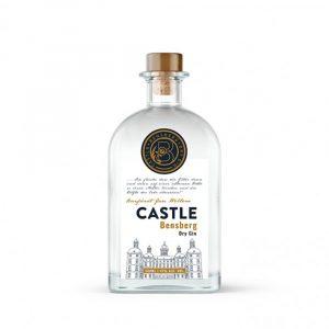 CASTLE BENSBERG DRY GIN   41%, 0,5L